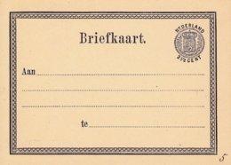 EP Briefkaart.2 1/2 CENT Violet - Material Postal