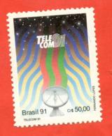 Brazil 1991. Telecom. Geneva. Unused Stamp. - Telecom