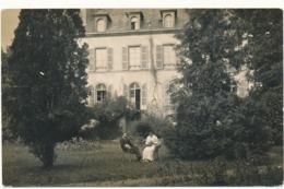 ISSOIRE - Carte Photo - Jardin De La Sous Préfecture, Carte écrite Par Le Sous Préfet - Issoire
