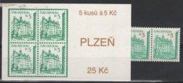 ARCH 13 - TCHEQUIE Carnet C 17 Neuf** - Tschechische Republik