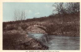 D 5534 - Solers (77)  Le Pont Bossu Sur L'Yerres - France