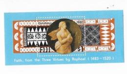 "Fidji Bloc Feuillet N° 4** ""la Foi, Des Trois Vertus"" - Fidji (1970-...)"