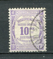 Frankreich Porto Nr.37           O  Used       (1306) - 1859-1955 Oblitérés