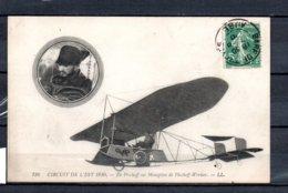 Circuit De L'Est 1910 - De Pischoff Sur Monoplan De Pischoff - Werner - Airmen, Fliers