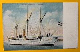 """8986 - Hr. MS.Schoener """"Zeehond"""" - Voiliers"""
