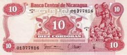 NICARAGUA 10 CÓRDOBAS 1979 P-134a UNC  [NI428a] - Nicaragua
