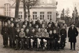Carte Photo Originale Scolaire & Guerre 1939-45 - Les élèves Du III Reich, Jeunesses Hitlériennes & Hitlerjugend 1930/40 - War, Military