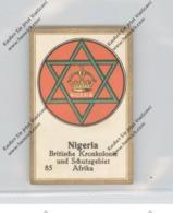 NIGERIA - Staatswappen - Abdullah-Vignette / Cinderella - Nigeria