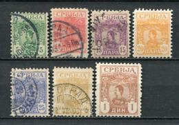 Serbien Nr.53/9          O  Used + *  Unused + (*) No Gum         (113) - Serbien
