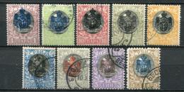 Serbien Ex.Nr.62/71          O  Used + *  Unused         (114) - Serbien