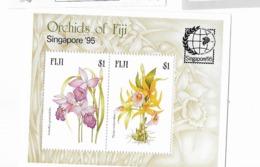 "Fidji Bloc Feuillet N° 17** Singapore 95 , Exposition Philatélique Internationale"" - Fidji (1970-...)"