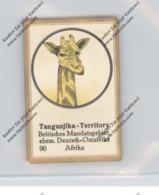 TANGANJIKA-TERRITORY - Provinzwappen - Abdullah-Vignette / Cinderella - Tansania