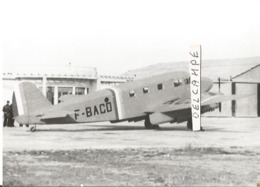 PHOTO AVION CAUDRON GOELAND C445 F-BACO    12X8CM - Aviation
