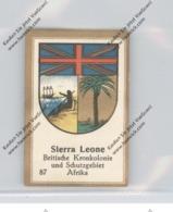 SIERRA LEONE - Staatswappen - Abdullah-Vignette / Cinderella - Sierra Leone