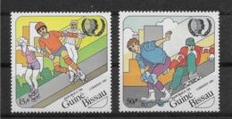 Thème Sports - Skate Board - Roller - Guiné-Bissau - Timbres Neufs ** Sans Charnière - TB - Skateboard