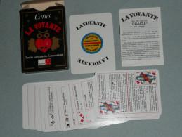 Rare Jeu De Cartes La VOYANTE, Oracle Par Laetitia, Divinatoire, Consultant Consultante, Avec Notice - Non Classés