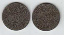 MAROC  50 Centimes 1924 Poissy  Morocco - Maroc