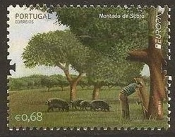 PORTUGAL 2011  - EUROPA CEPT - BOSQUES - FORESTS - 1 STAMP - 2011
