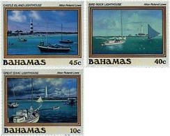 Ref. 47486 * MNH * - BAHAMAS. 1987. LIGHTHOUSES . FAROS - Bahamas (1973-...)
