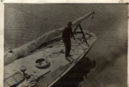 18*13CM Fonds Victor FORBIN 1864-1947 - Barcos