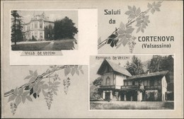 Cartoline Cortenova Villa De Vecchi 2 Bild 1923 - Italie