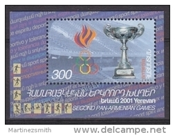 Armenia - Armenie 2001 Yvert BF 16, Second Pan-Armenian Games - MNH - Armenia