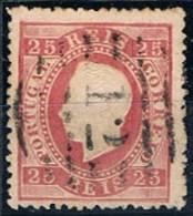 Portugal, 1870/6, # 40, Azambuja, Used - Usado