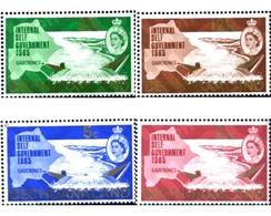 Ref. 290927 * MNH * - BECHUANALAND. 1965. INTERNAL AUTONOMY . AUTONOMIA INTERNA - Bechuanaland (...-1966)