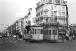 Belgique -  Bruxelles - 5 Photos De Tram - Transport Urbain En Surface
