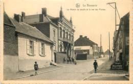 Belgique -  Frameries - La Bouverie - La Maison Du Peuple Et La Rue Des Plantes - Frameries