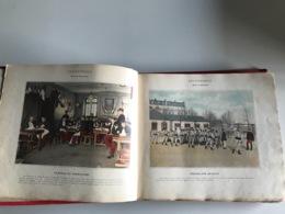 ALBUM MILITAIRE & SCENES De La VIE Du SOLDAT - Circa 1900 - Histoire