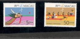 MACAU1987:Michel 573-4mnh**Scott 545-6 - Macao