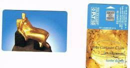 LUSSEMBURGO (LUXEMBOURG) - P&T CHIP - 1996 SC10 ARTE CONTEMPORANEA: YVETTE GASTAUER-CLAIRE (FONTE DOREE) -USED- RIF.7945 - Luxemburg