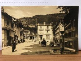 CPA 74 St Gervais Les Bains La Place - Saint-Gervais-les-Bains
