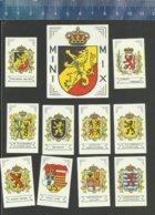 MINI MIX SERIE BELGIË BELGIQUE PROVINCES Small Matchbox Labels Belgium - Matchbox Labels