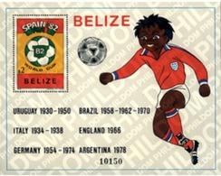 Ref. 272242 * MNH * - BELIZE. 1981. FOOTBALL WORLD CUP. SPAIN-82 . COPA DEL MUNDO DE FUTBOL. ESPAÑA-82 - Coppa Del Mondo