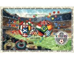 Ref. 39207 * MNH * - BELIZE. 1986. FOOTBALL WORLD CUP. MEXICO-86 . COPA DEL MUNDO DE FUTBOL. MEXICO-86 - Sin Clasificación