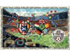Ref. 39208 * MNH * - BELIZE. 1986. FOOTBALL WORLD CUP. MEXICO-86. WINNER . COPA DEL MUNDO DE FUTBOL. MEXICO-86. VENCEDOR - Sin Clasificación