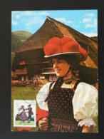 Carte Maximum Card Costume Europa 1981 Allemagne Germany Ref 94394 - Europa-CEPT