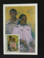 Carte Maximum Card Peinture Painting Paul Gauguin Polynésie 1978 Ref 94351 - Cartes-maximum