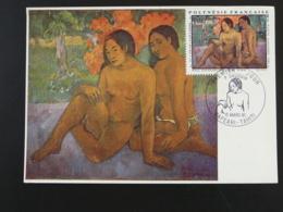 Carte Maximum Card Paul Gauguin Femme Nue Naked Woman Polynésie 1981 Ref 94611 - Cartes-maximum
