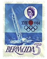 Ref. 26745 * MNH * - BERMUDAS. 1964. GAMES OF THE XVIII OLYMPIAD. TOKYO 1964 . 18 JUEGOS OLIMPICOS VERANO TOKIO 1964 - Bateaux