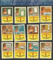 CHAMPION NORA ( ELECTRIC HOUSEHOLD EQUIPMENT & RADIOS ) Matchbox Labels Belgium - Matchbox Labels