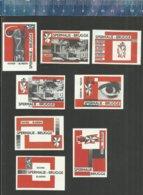 BRUGGE - SPERMALIE - DOVEN BLINDEN  Matchbox Labels Belgium - Matchbox Labels