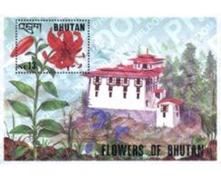 Ref. 81444 * MNH * - BHUTAN. 1994. FLOWERS OF BHUTAN . FLORES DE BHUTAN - Bhután
