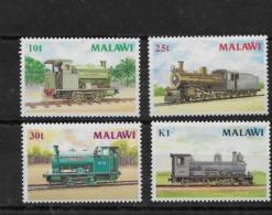 Serie De Malawi Nº Yvert 493/96 ** TRENES (TRAINS) - Malawi (1964-...)