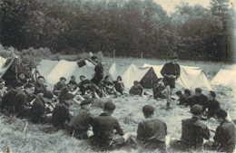 Voici Les Compagnons De France Scouts Eclaireurs Chantier Jeunesse Pétain Le Déjeuner - Uniforms