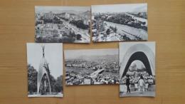 DÉFINIR UN MONUMENT JAPON HONSHU HIROSHIMA DE LA PLANÈTE PROPRE AUX VICTIMES DU PANORAMA DE LA VILLE - Hiroshima
