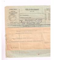 Télégramme De Léopoldville à Léopoldville. - Congo Belge