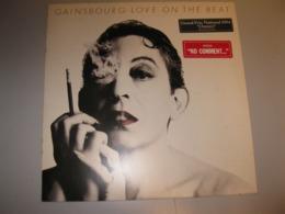 """VINYLE """"GAINSBOURG  LOVE ON THE BEAT"""" 33 T PHILIPS / PHONOGRAM 1984 - Vinyl-Schallplatten"""